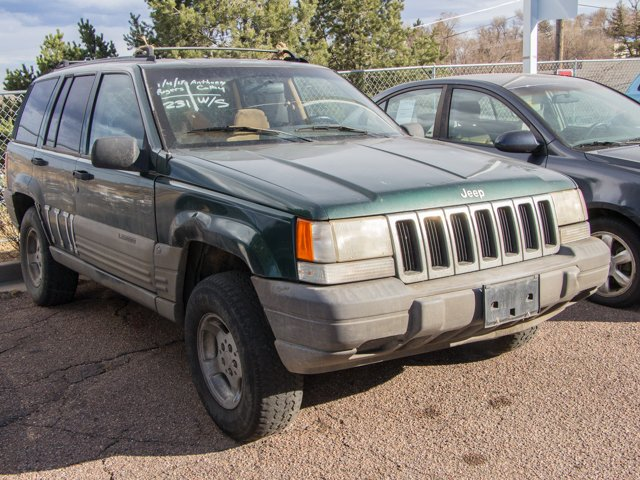 pre owned 1996 jeep grand cherokee laredo sport utility in colorado springs s7191a mercedes. Black Bedroom Furniture Sets. Home Design Ideas